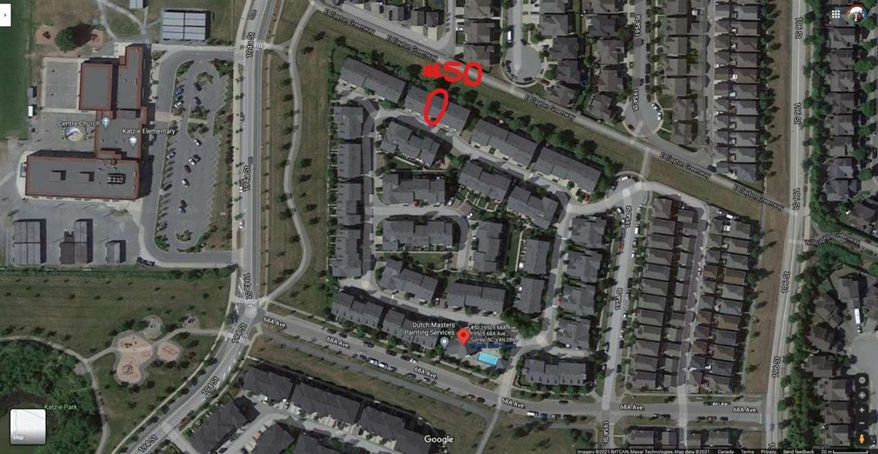 """Main Photo: 50 19505 68A Avenue in Surrey: Clayton Townhouse for sale in """"CLAYTON RISE"""" (Cloverdale)  : MLS®# R2584500"""