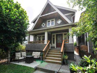 Photo 1: 1252 E 11TH Avenue in Vancouver: Mount Pleasant VE 1/2 Duplex for sale (Vancouver East)  : MLS®# R2317312