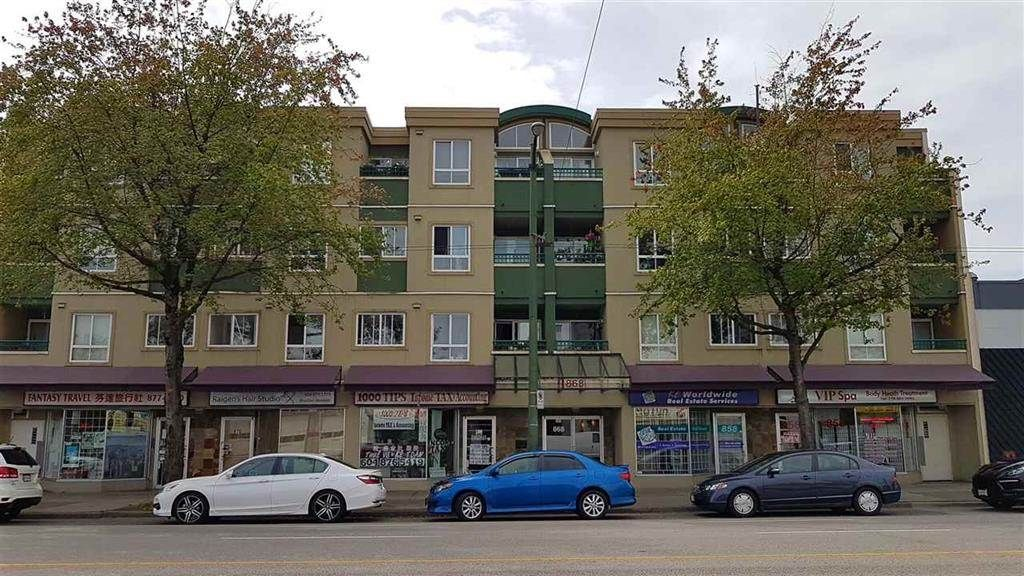 """Main Photo: 208 868 KINGSWAY Avenue in Vancouver: Fraser VE Condo for sale in """"KINGS VILLA"""" (Vancouver East)  : MLS®# R2307350"""