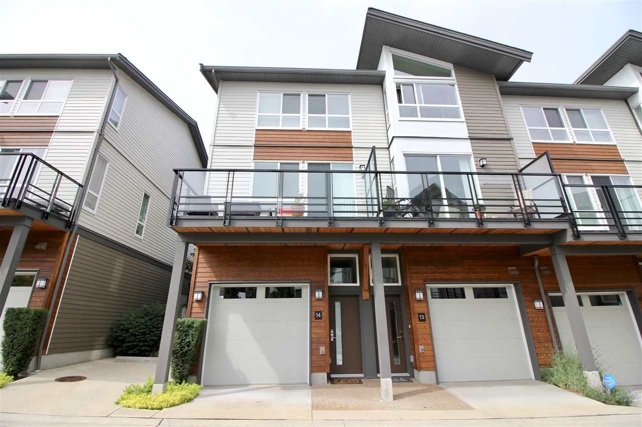 """Main Photo: 14 909 CLARKE Road in Port Moody: College Park PM Townhouse for sale in """"THE CLARKE"""" : MLS®# R2388373"""