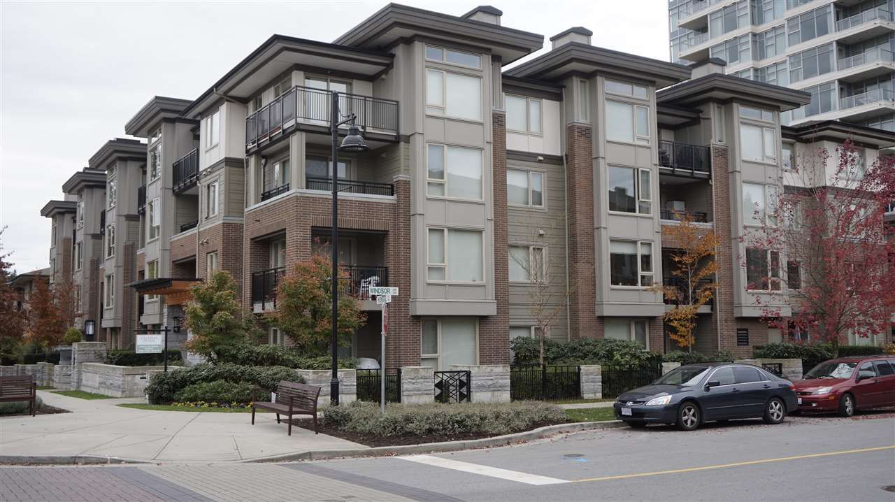"""Main Photo: 311 1128 KENSAL Place in Coquitlam: New Horizons Condo for sale in """"CELADON HOUSE"""" : MLS®# R2220939"""