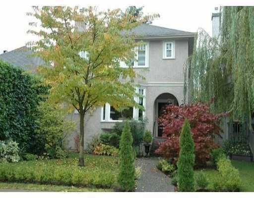Main Photo: 4668 W 11TH AV in Vancouver: Point Grey House for sale (Vancouver West)  : MLS®# V572031
