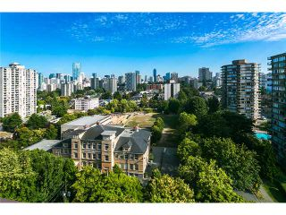Photo 2: # 1801 1725 PENDRELL ST in Vancouver: West End VW Condo for sale (Vancouver West)  : MLS®# V1095327