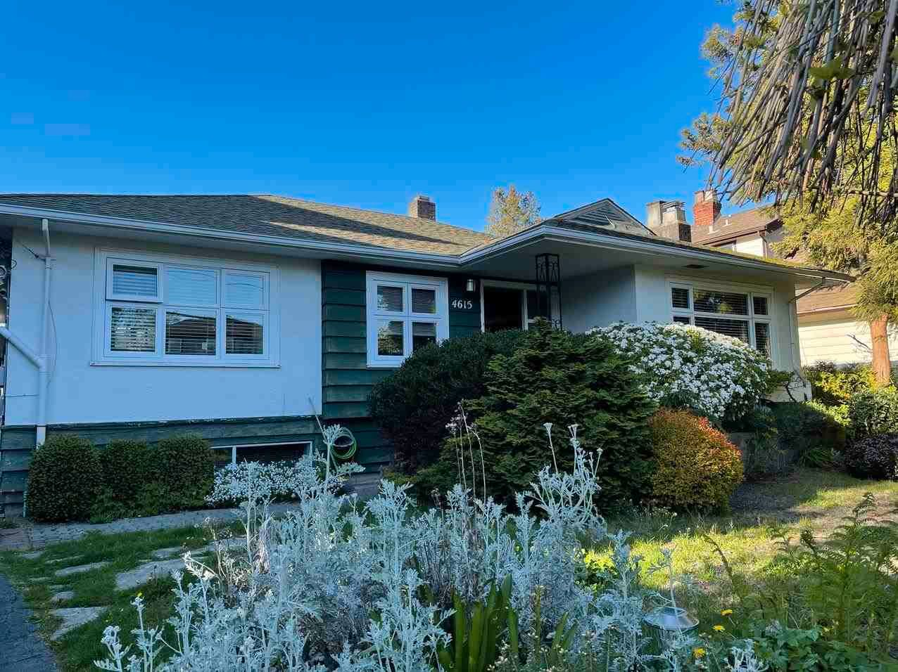 Main Photo: 4615 W 4TH Avenue in Vancouver: Point Grey House for sale (Vancouver West)  : MLS®# R2575212