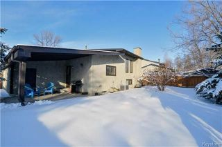Photo 20: 106 Glenbrook Crescent in Winnipeg: Richmond West Residential for sale (1S)  : MLS®# 1804863