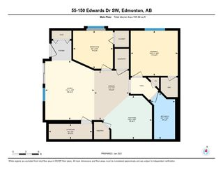 Photo 44: 55 150 Edwards Drive in Edmonton: Zone 53 Carriage for sale : MLS®# E4225781