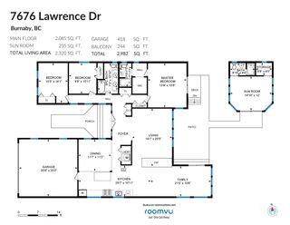 Photo 2: 7676 LAWRENCE Drive in Burnaby: Montecito House for sale (Burnaby North)  : MLS®# R2570165
