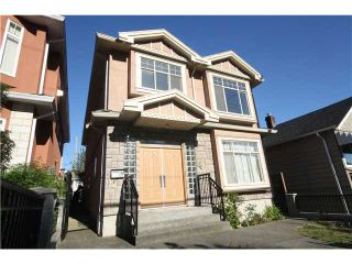 """Photo 1: 7330 ONTARIO Street in Vancouver: South Vancouver House for sale in """"LANGARA"""" (Vancouver East)  : MLS®# V1079801"""