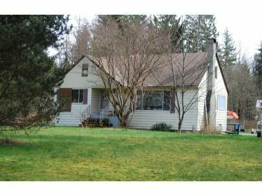 Main Photo: 12128 256th Street in Maple Ridge: Home for sale : MLS®# V1013647
