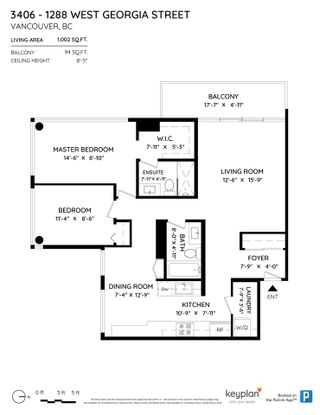"""Photo 34: 3406 1288 W GEORGIA Street in Vancouver: West End VW Condo for sale in """"Residences on Georgia"""" (Vancouver West)  : MLS®# R2603803"""