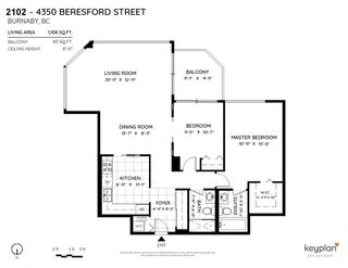"""Photo 6: 2102 4350 BERESFORD Street in Burnaby: Metrotown Condo for sale in """"CARLTON ON THE PARK"""" (Burnaby South)  : MLS®# R2584428"""