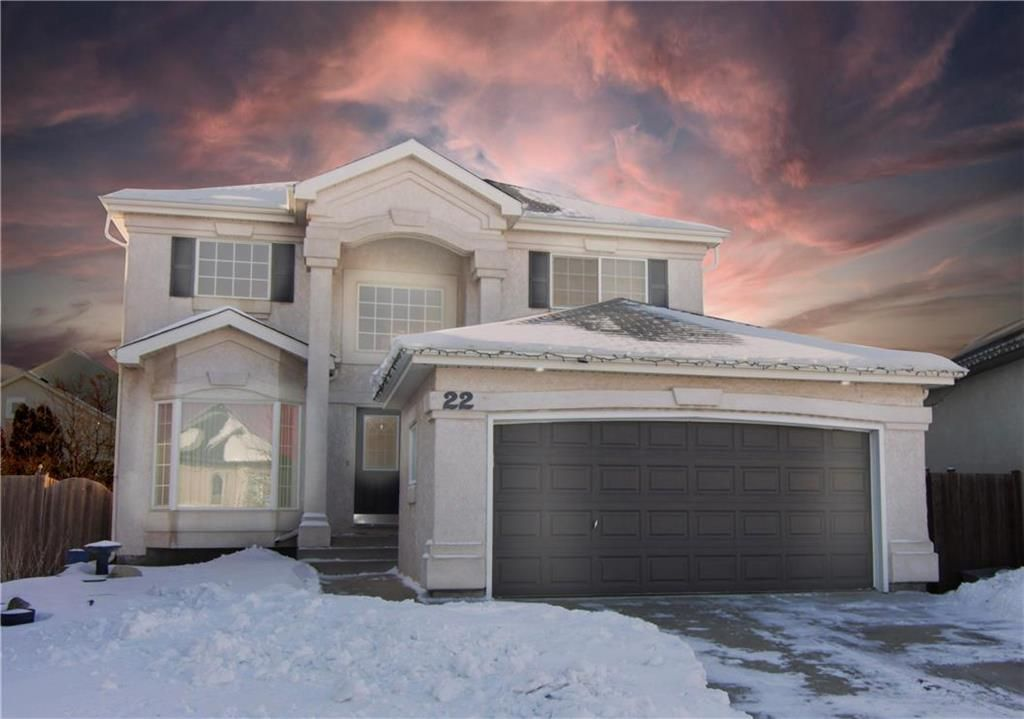 Main Photo: 22 Breckenridge Close in Winnipeg: Whyte Ridge Residential for sale (1P)  : MLS®# 202102748
