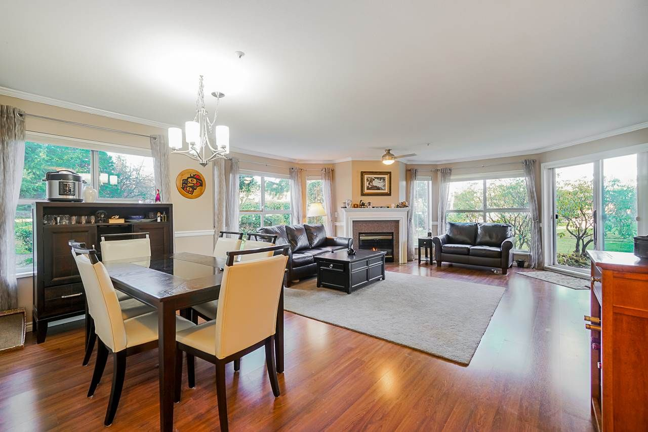 """Main Photo: 106 7435 121A Street in Surrey: West Newton Condo for sale in """"Strawberry Hills Estates"""" : MLS®# R2422525"""