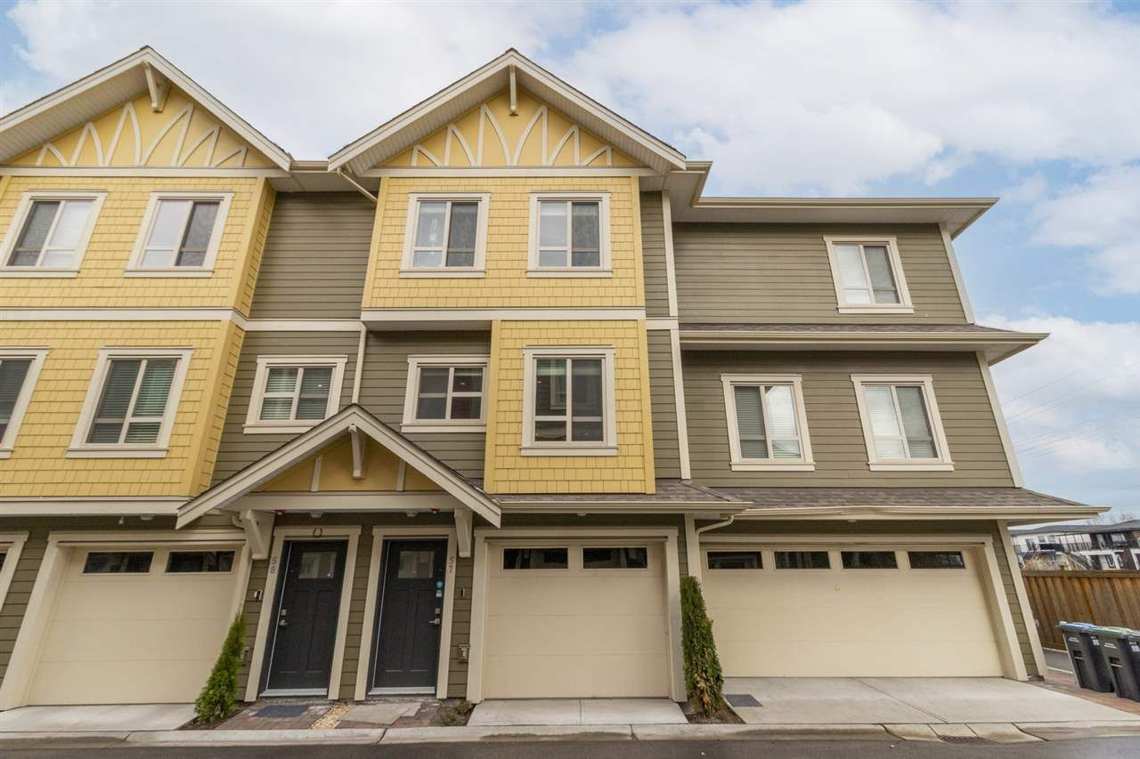 Main Photo: 57 843 EWEN Avenue in New Westminster: Queensborough Townhouse for sale : MLS®# R2561231