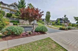 """Photo 1: 231 3105 DAYANEE SPRINGS Boulevard in Coquitlam: Westwood Plateau Townhouse for sale in """"Whitetail Lains at dayanee"""" : MLS®# R2385628"""