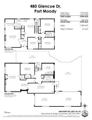 Photo 26: 480 GLENCOE Drive in Port Moody: Glenayre House for sale : MLS®# R2592997