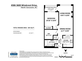 Photo 18: # 306 3600 WINDCREST DR in North Vancouver: Roche Point Condo for sale : MLS®# V1132857