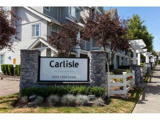 """Photo 1: 44 6555 192A Street in Surrey: Clayton Townhouse for sale in """"The Carlisle"""" (Cloverdale)  : MLS®# R2037162"""