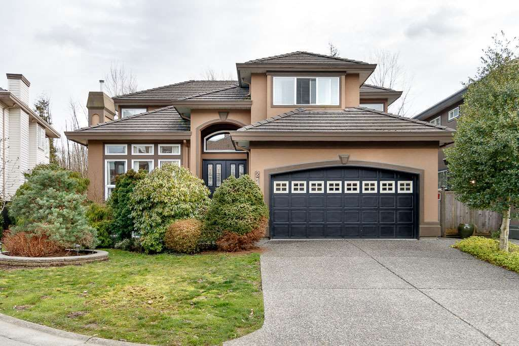 "Main Photo: 2167 DRAWBRIDGE Close in Port Coquitlam: Citadel PQ House for sale in ""CITADEL"" : MLS®# R2460862"
