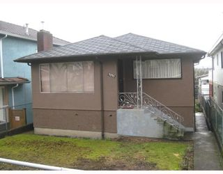 Photo 1: 3030 E 7TH Avenue in Vancouver: Renfrew VE House for sale (Vancouver East)  : MLS®# V812173