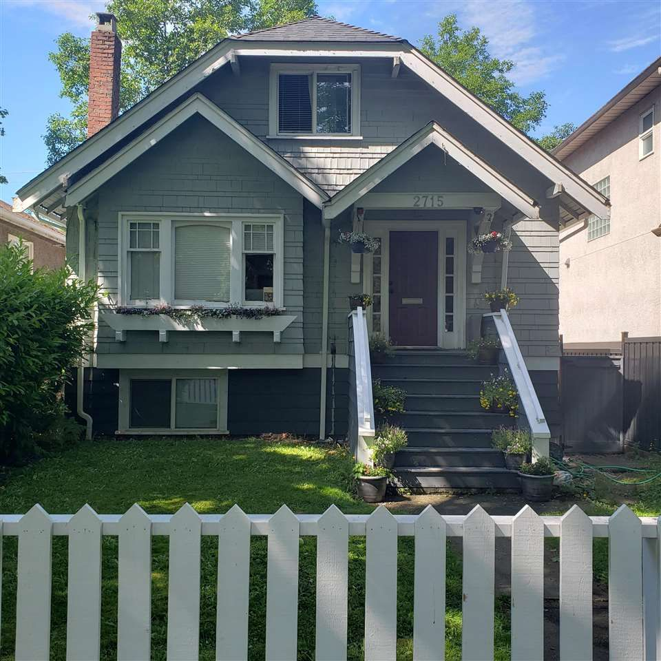 Photo 1: Photos: 2715 W 16TH Avenue in Vancouver: Kitsilano House for sale (Vancouver West)  : MLS®# R2591957