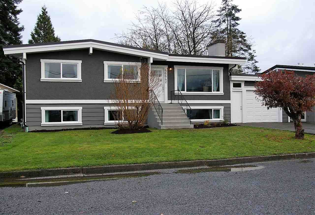 Main Photo: 46642 ANDREWS Avenue in Chilliwack: Chilliwack E Young-Yale House for sale : MLS®# R2221862