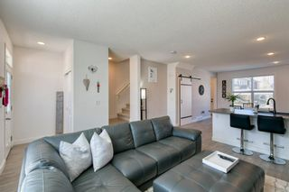 Photo 5: 182 Silverado Boulevard SW in Calgary: Silverado Row/Townhouse for sale : MLS®# A1102908
