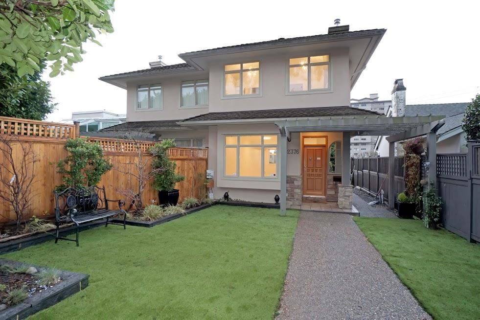 Main Photo: 2376 MARINE Drive in West Vancouver: Dundarave 1/2 Duplex for sale : MLS®# R2623931