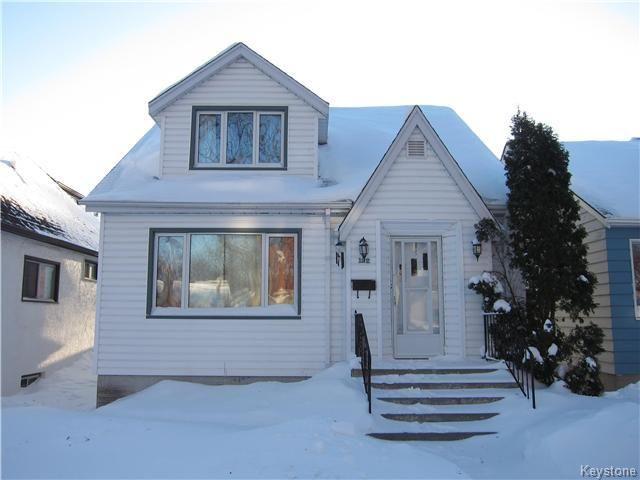 Main Photo: 122 Cobourg Avenue in Winnipeg: Residential for sale (3C)  : MLS®# 1700397