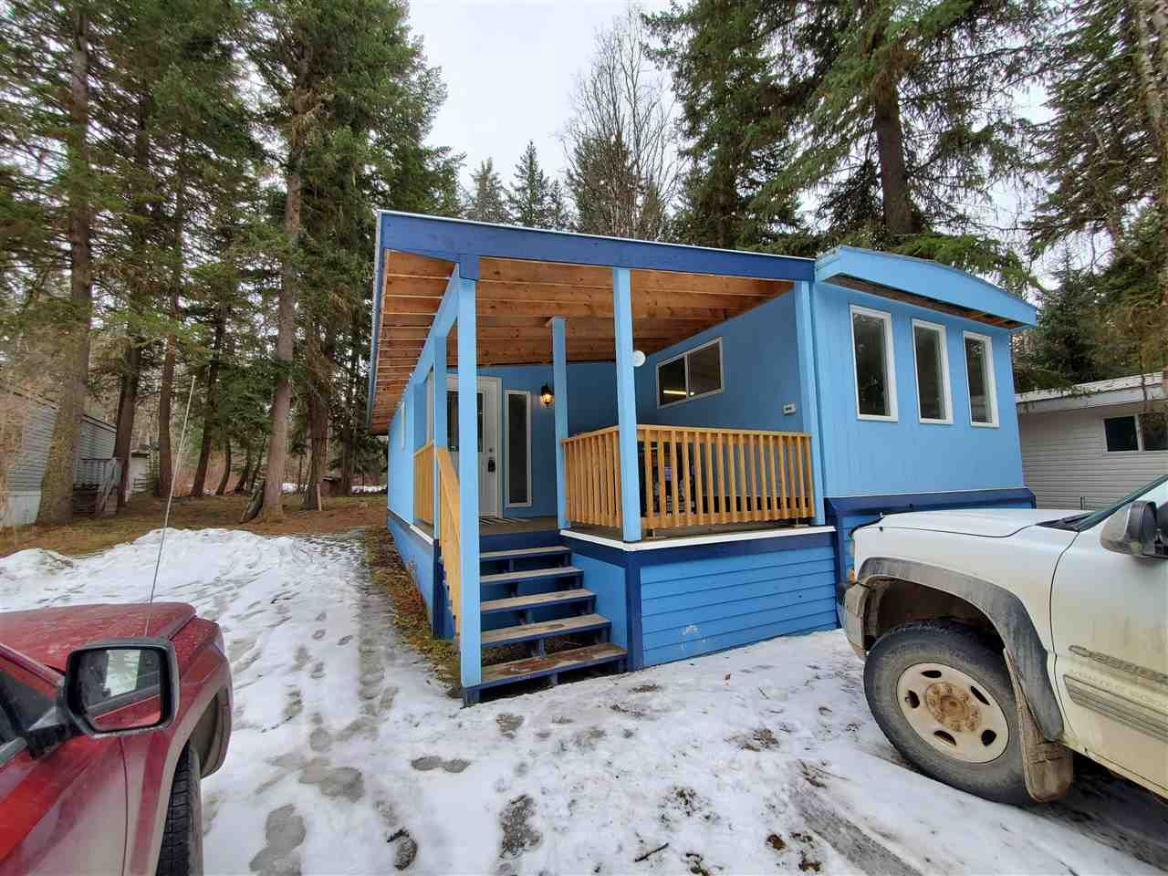 "Main Photo: 8 2764 DURRELL Road in Quesnel: Quesnel Rural - South Manufactured Home for sale in ""PARKLAND ESTATES"" (Quesnel (Zone 28))  : MLS®# R2553865"