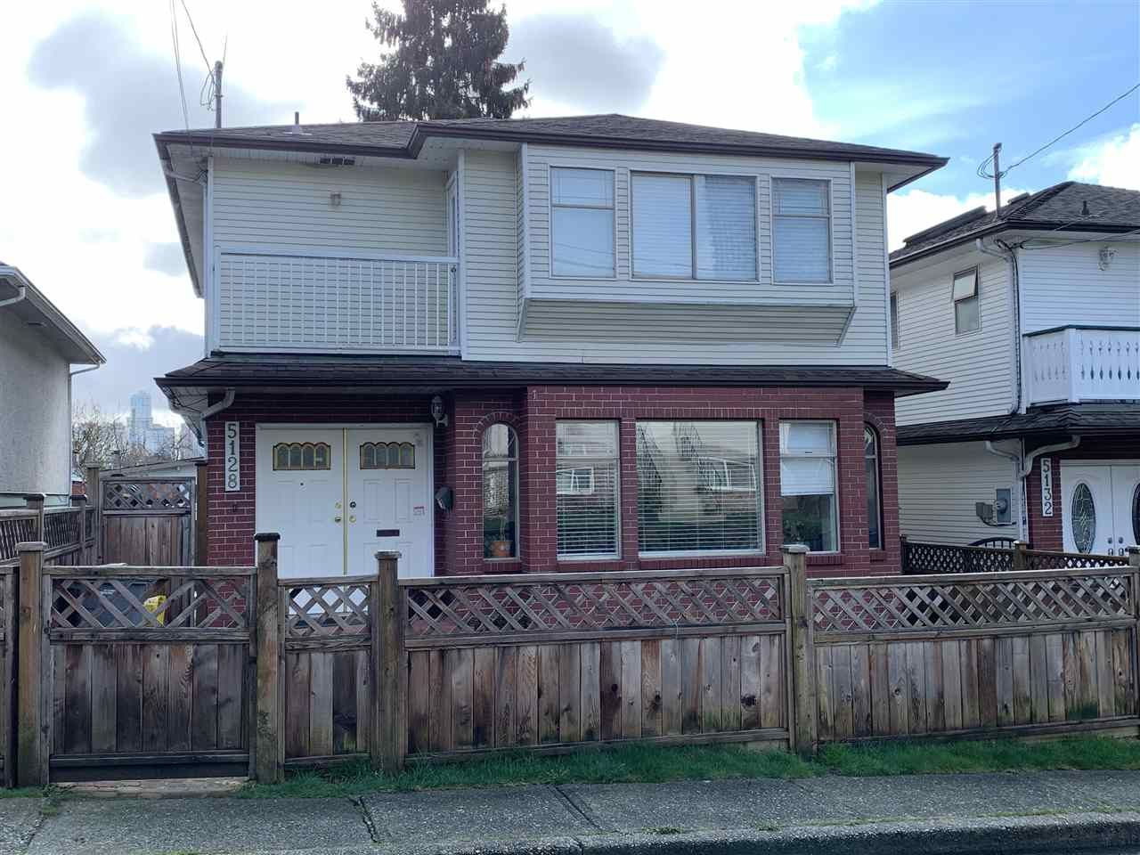 Main Photo: 5128 RUBY Street in Vancouver: Collingwood VE House for sale (Vancouver East)  : MLS®# R2553417