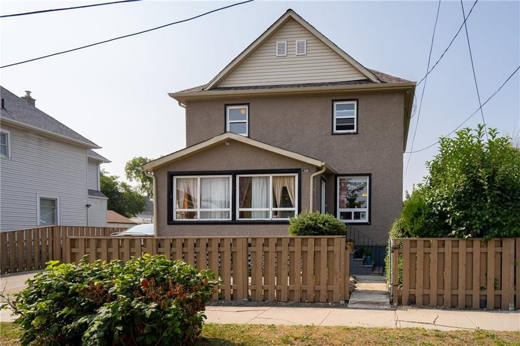 Main Photo: 548 Aberdeen Avenue in Winnipeg: North End Residential for sale (4A)  : MLS®# 202119164