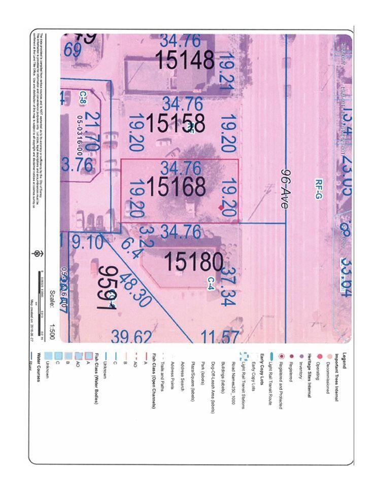 Main Photo: 15168 96 Avenue in Surrey: Fleetwood Tynehead Land for sale : MLS®# R2283131