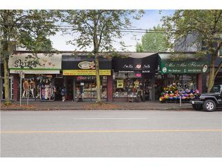 Photo 1: 2970 2978 BROADWAY W in VANCOUVER: Kitsilano Home for sale (Vancouver West)  : MLS®# V4037608