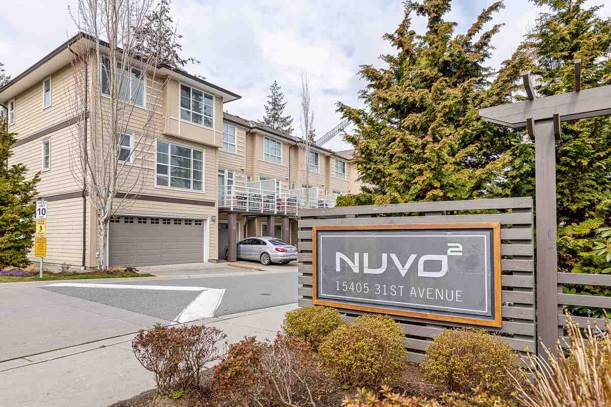 """Main Photo: 69 15405 31 Avenue in Surrey: Grandview Surrey Townhouse for sale in """"Nuvo II"""" (South Surrey White Rock)  : MLS®# R2555413"""