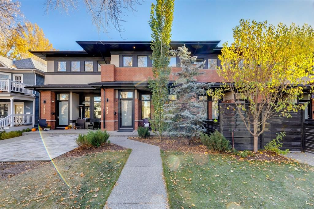 Main Photo: 1920 5A Street SW in Calgary: Cliff Bungalow Row/Townhouse for sale : MLS®# A1154102