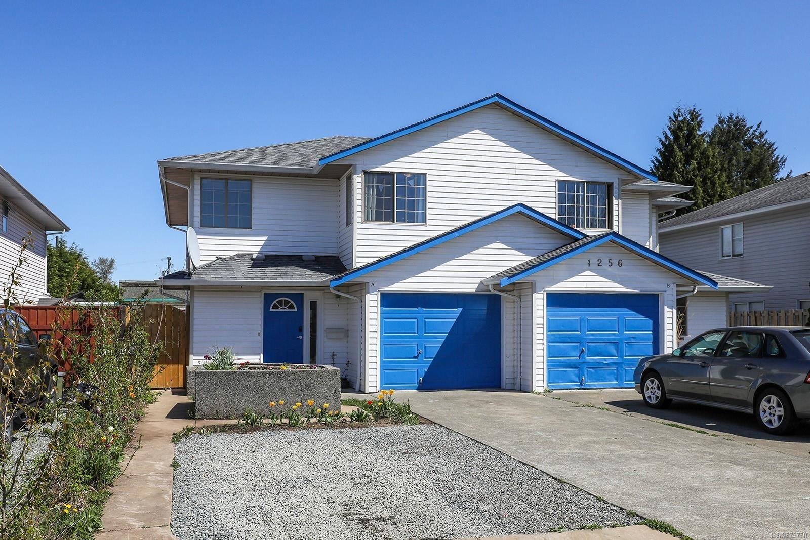 Main Photo: A 1256 Joshua Pl in : CV Courtenay City Half Duplex for sale (Comox Valley)  : MLS®# 873760