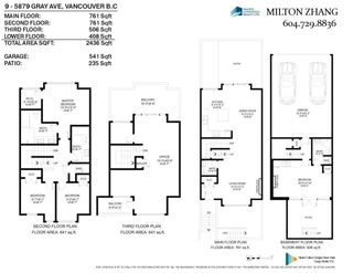Photo 16: 9 5879 GRAY Avenue in Vancouver: University VW Townhouse for sale (Vancouver West)  : MLS®# R2593620