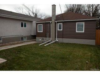 Photo 20: 98 Hill Street in WINNIPEG: St Boniface Residential for sale (South East Winnipeg)  : MLS®# 1427525