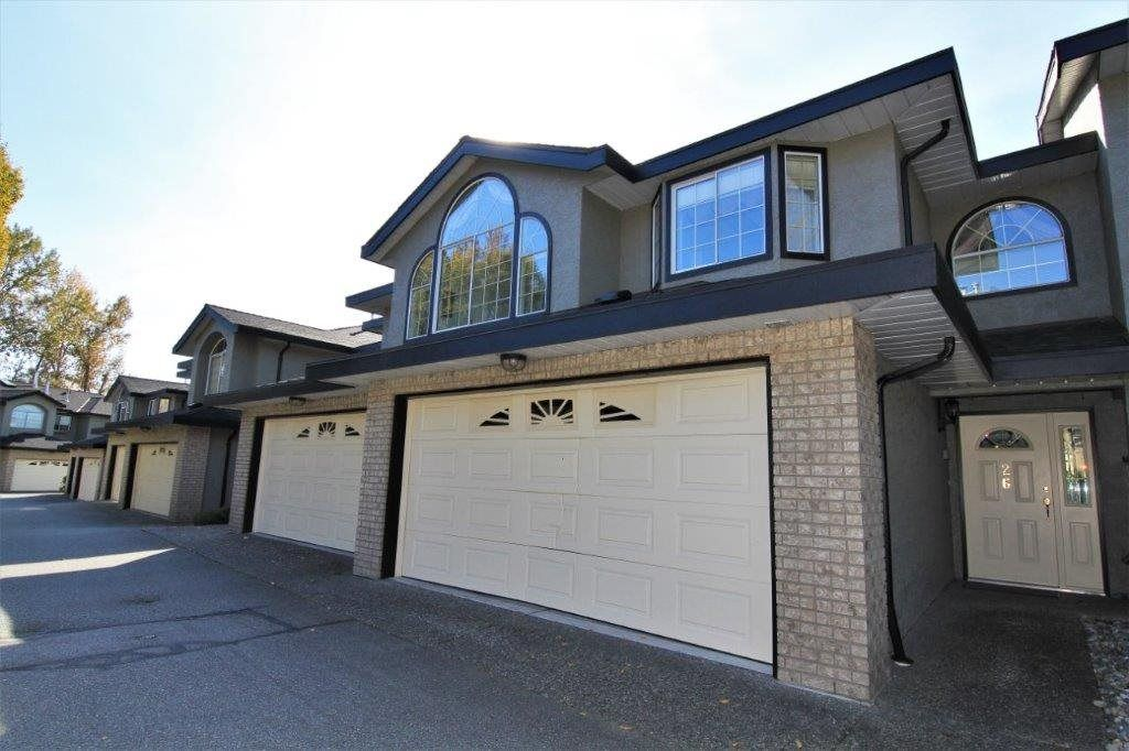 Main Photo: 26 22488 116 Avenue in Maple Ridge: East Central Townhouse for sale : MLS®# R2415066