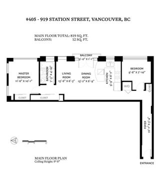 """Photo 16: 405 919 STATION Street in Vancouver: Strathcona Condo for sale in """"LEFT BANK"""" (Vancouver East)  : MLS®# R2594810"""
