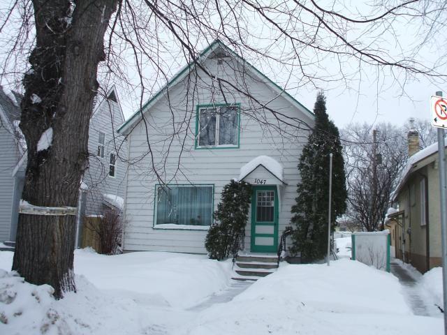 Main Photo: 1047 Sherburn Street in WINNIPEG: West End / Wolseley Residential for sale (West Winnipeg)  : MLS®# 1101863