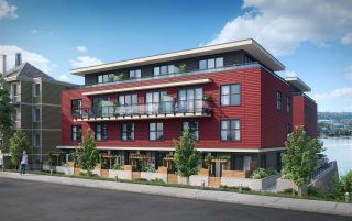 """Photo 2: 504 218 CARNARVON Street in New Westminster: Quay Condo for sale in """"IRVING LIVING"""" : MLS®# R2208664"""