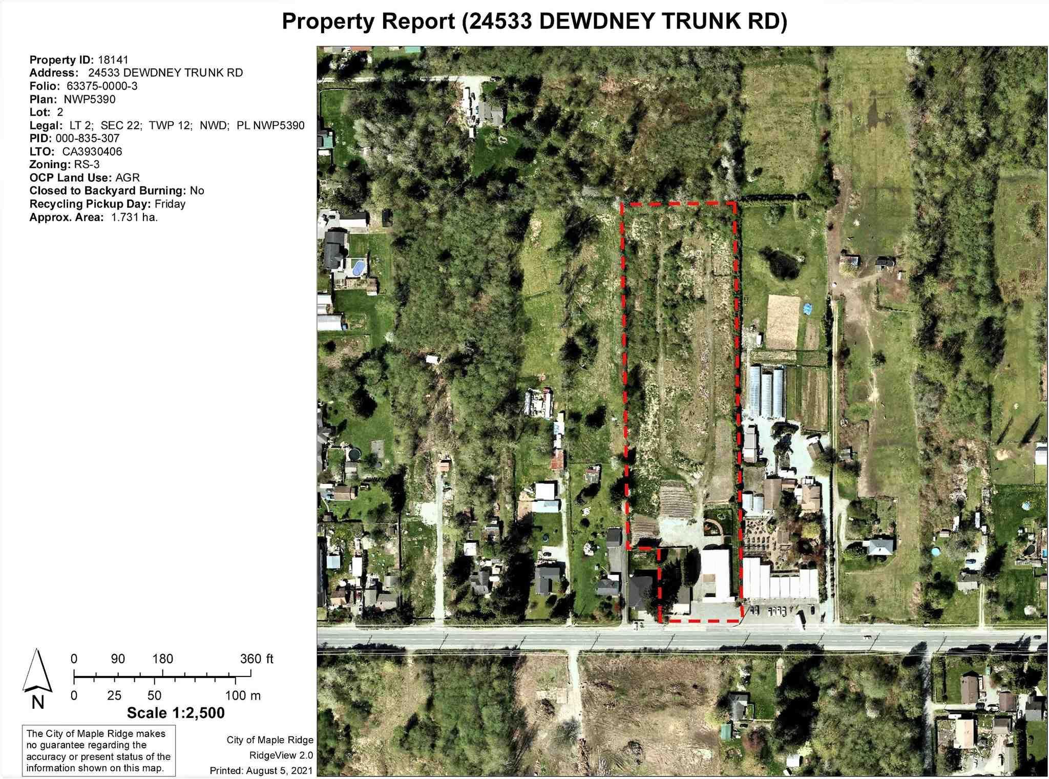Main Photo: 24533 DEWDNEY TRUNK Road in Maple Ridge: Websters Corners House for sale : MLS®# R2607299