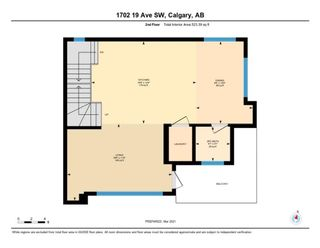 Photo 32: 1702 19 Avenue SW in Calgary: Bankview Row/Townhouse for sale : MLS®# A1078648