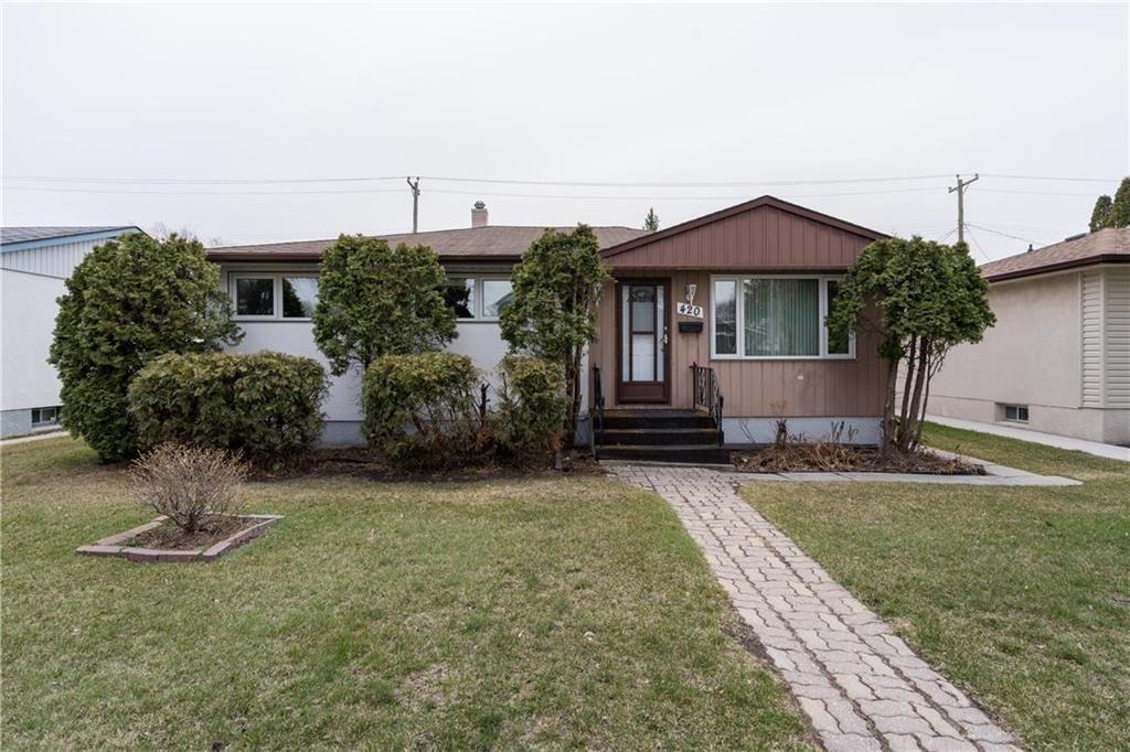 Main Photo: 420 Harold Avenue West in Winnipeg: West Transcona Residential for sale (3L)  : MLS®# 202110346