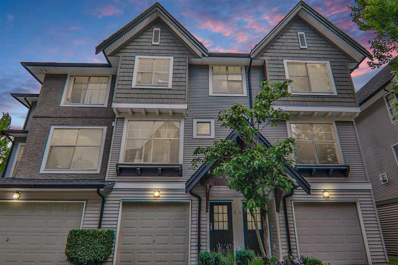 "Main Photo: 5 15152 62A Avenue in Surrey: Sullivan Station Townhouse for sale in ""The Uplands"" : MLS®# R2466236"