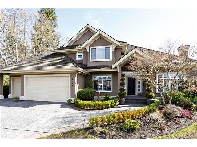 """Main Photo: 2148 138TH Street in Surrey: Elgin Chantrell House for sale in """"CHANTRELL PARK ESTATES"""" (South Surrey White Rock)  : MLS®# F1403788"""