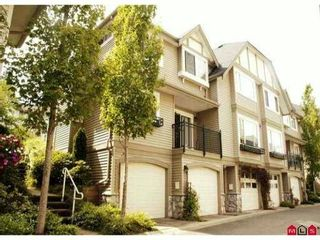 """Photo 1: 10 15488 101A Avenue in Surrey: Guildford Townhouse for sale in """"COBBLEFIELD LANE"""" (North Surrey)  : MLS®# F1219842"""