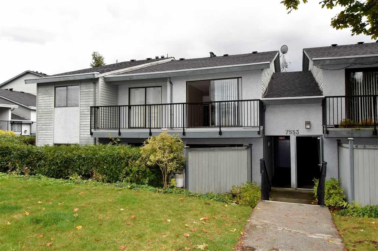 "Main Photo: 19 7553 HUMPHRIES Court in Burnaby: Edmonds BE Townhouse for sale in ""HUMPHRIES COURT"" (Burnaby East)  : MLS®# R2110591"